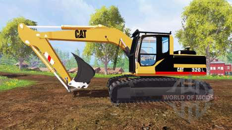 Caterpillar 320L для Farming Simulator 2015