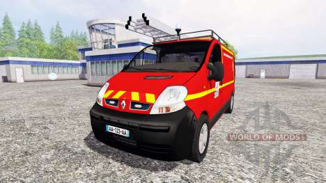 Renault Trafic VTU для Farming Simulator 2015