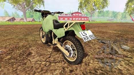 Kawasaki KR650 для Farming Simulator 2015