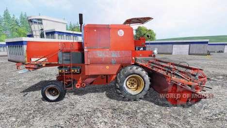 Bizon Z056 [красная крыша] для Farming Simulator 2015