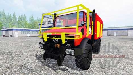 Mercedes-Benz Unimog U1200 CCF для Farming Simulator 2015
