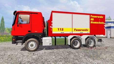 Mercedes-Benz Actros Feuerwehr для Farming Simulator 2015