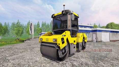 Dynapac CC2200 для Farming Simulator 2015