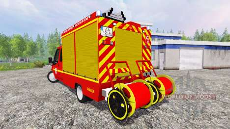 Ford Transit [sapeurs pompiers] для Farming Simulator 2015