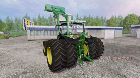 John Deere 7530 Premium v2.0 для Farming Simulator 2015
