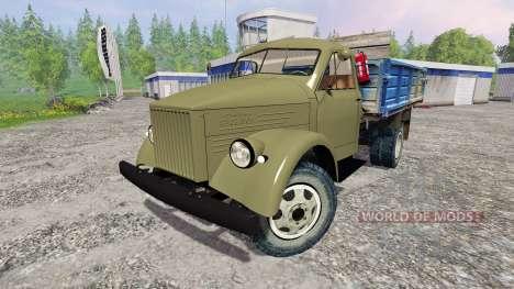 ГАЗ-51 4x2 для Farming Simulator 2015