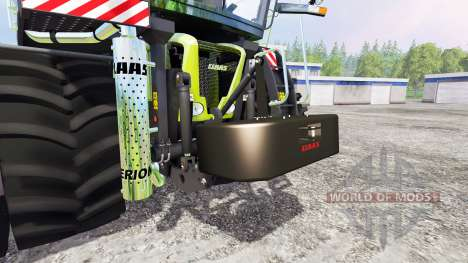 Claas Xerion для Farming Simulator 2015