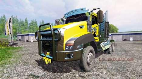 Caterpillar CT660 для Farming Simulator 2015