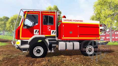 Renault Midlum [sapeurs-pompiers] для Farming Simulator 2015