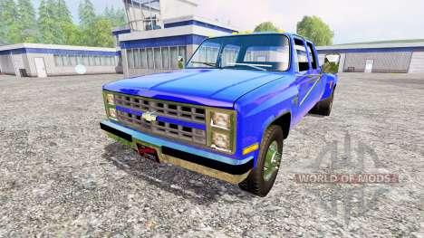 Chevrolet Silverado 1984 для Farming Simulator 2015