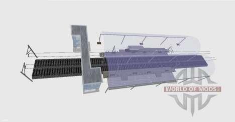 Железнодорожная станция для Farming Simulator 2015