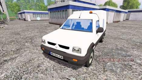 Renault Express D65 для Farming Simulator 2015