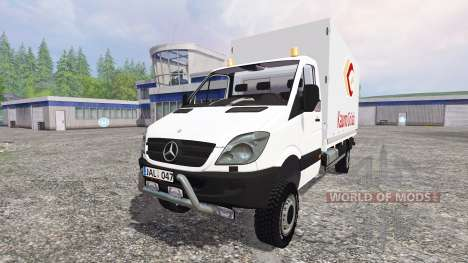Mercedes-Benz Sprinter 313 CDI для Farming Simulator 2015