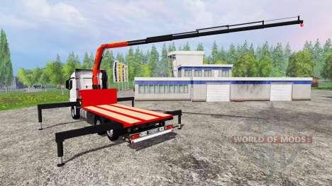 Mercedes-Benz Actros MP4 Convoi Exceptionel для Farming Simulator 2015