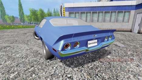 Chevrolet Camaro Z28 1973 для Farming Simulator 2015