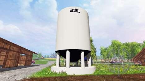 Silo Westeel для Farming Simulator 2015
