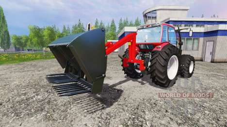 Навесной задний фронтальный погрузчик для Farming Simulator 2015