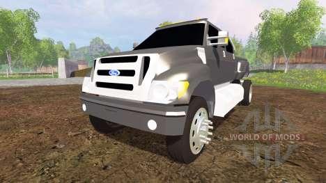Ford F-650 v2.0 для Farming Simulator 2015
