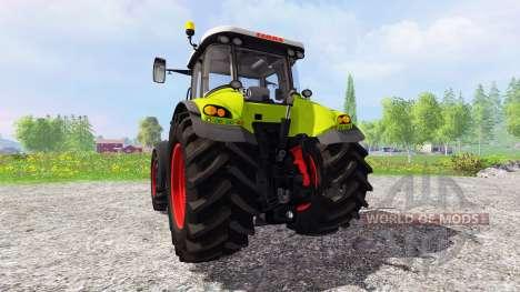CLAAS Axion 850 v1.3 для Farming Simulator 2015