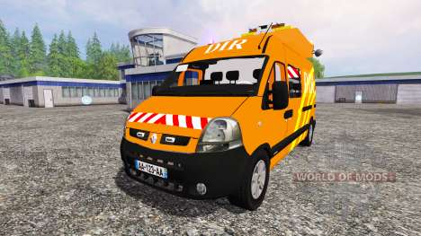 Renault Master DIR v2.1 для Farming Simulator 2015