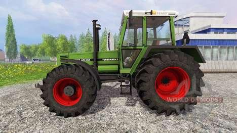 Fendt Favorit 615 LSA Turbomatic v2.0 для Farming Simulator 2015