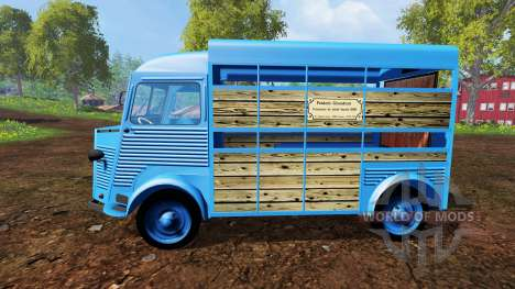 Citroen Type H v2.6 для Farming Simulator 2015