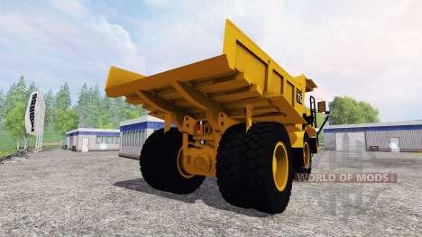 Caterpillar 773G для Farming Simulator 2015