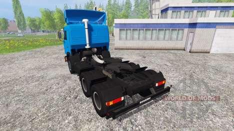 КамАЗ-54115 ГАЗПРОМНЕФТЬ для Farming Simulator 2015