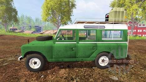 Land Rover Series IIa Station Wagon 1965 для Farming Simulator 2015