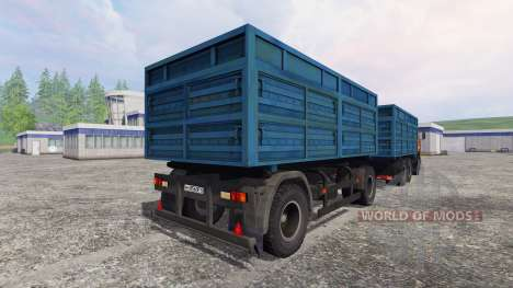 КамАЗ-53212 [НефАЗ 8560] для Farming Simulator 2015