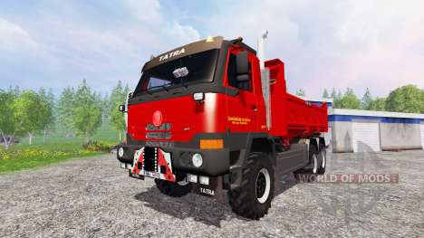 Tatra T815 TerrNo1 6x6 для Farming Simulator 2015
