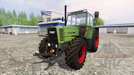 Fendt Farmer 312 LSA v3.1 для Farming Simulator 2015