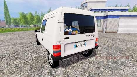 Citroen C15 для Farming Simulator 2015