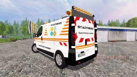 Renault Trafic [stadtwerke] для Farming Simulator 2015