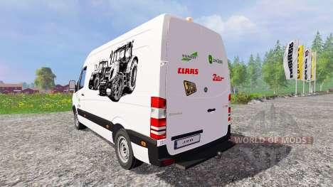 Mercedes-Benz Sprinte [service] для Farming Simulator 2015
