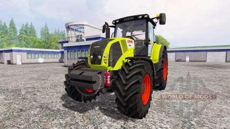 CLAAS Axion 850 [weight] для Farming Simulator 2015