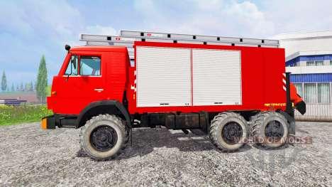 КамАЗ-43114 [пожарная охрана] для Farming Simulator 2015
