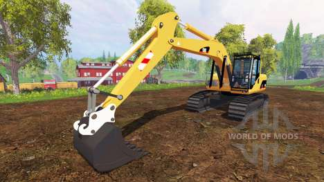 Caterpillar 330CL для Farming Simulator 2015
