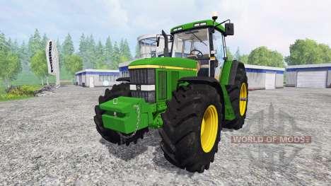 John Deere 7810 [weight] для Farming Simulator 2015