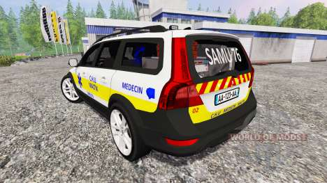 Volvo XC70 SAMU для Farming Simulator 2015