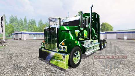 Kenworth T908 [John Deere Service] для Farming Simulator 2015
