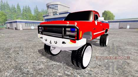 Chevrolet Silverado для Farming Simulator 2015