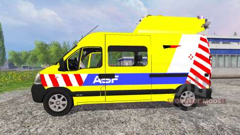 Renault Master ASF v2.1 для Farming Simulator 2015