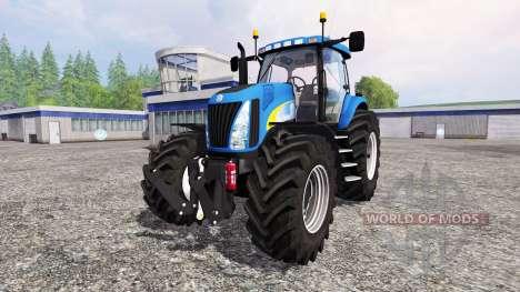 New Holland TG 285 v2.0 для Farming Simulator 2015