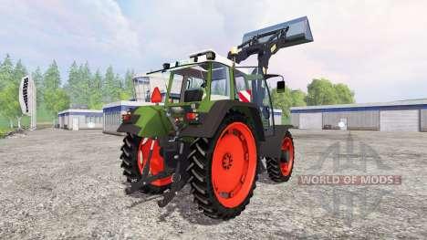 Fendt Favorit 515C Turbomatic [washable] для Farming Simulator 2015