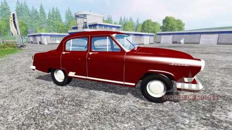 ГАЗ-21 v1.0 для Farming Simulator 2015
