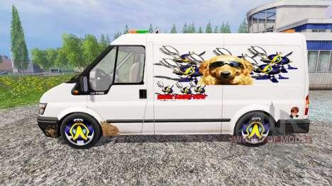 Ford Transit [party van] v2.0 для Farming Simulator 2015