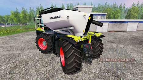 CLAAS Xerion 4000 SaddleTrac v1.6 для Farming Simulator 2015