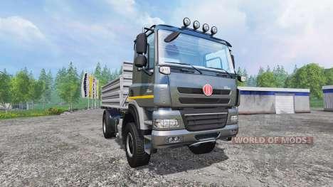 Tatra Phoenix T 158 4x4 [tipper] v1.2 для Farming Simulator 2015