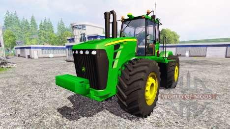 John Deere 9630 v6.0 для Farming Simulator 2015